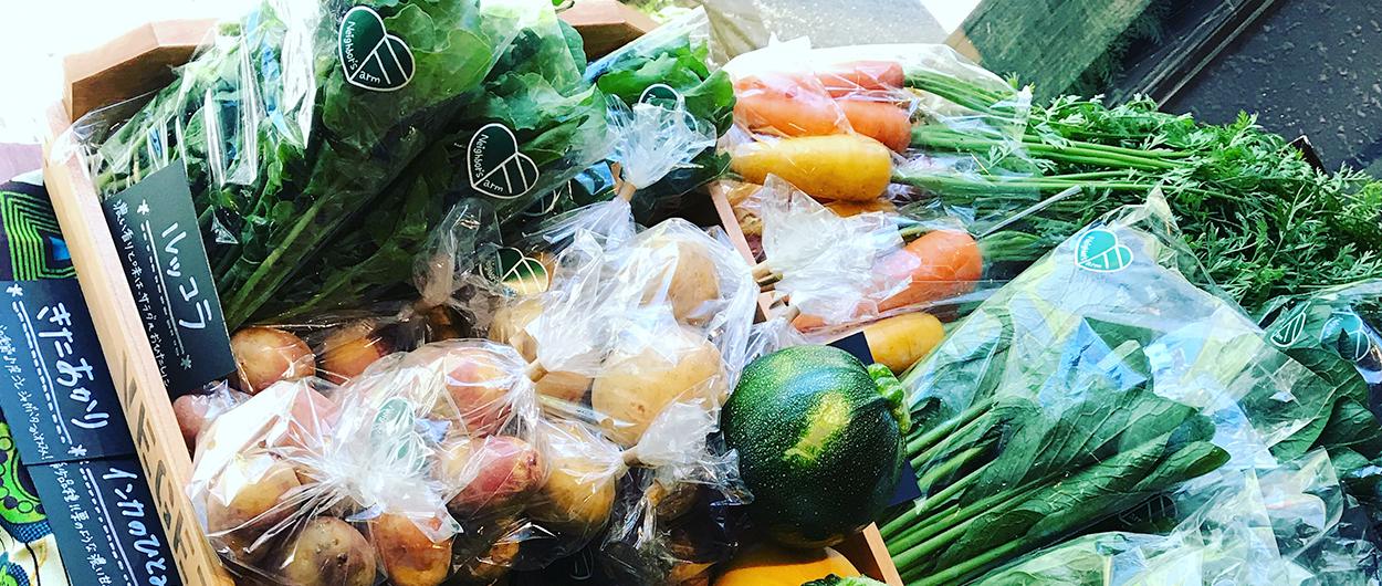 地場野菜販売